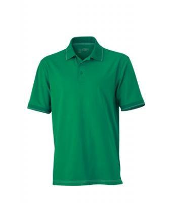 Hochwertiges Poloshirt mit Kontraststreifen (Damen- & Herrenschnitt)