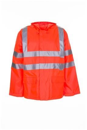 Warnschutz-Regenjacke 2061 orange