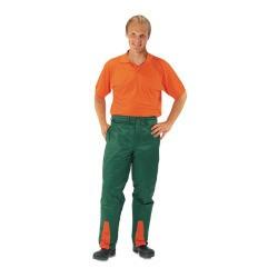 Forstschutz-Bundhose grün-fluoreszierend orange