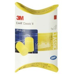 E-A-R Classic II Gehörschutzstöpsel PP01200 250 Paar, SNR= 28 dB
