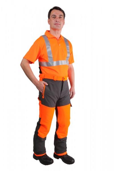 Forstschutz-Bundhose Stretch 8-4600, mit Schnittschutzeinlage