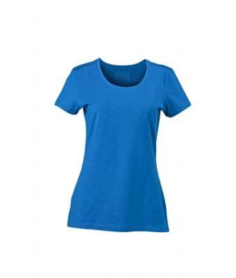 """T-Shirt mit trendiger """"Slub"""" Qualität - Damen- & Herrenschnitt, verschiedene Farben"""